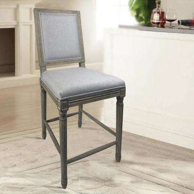 square louis grey counter chair set of 2