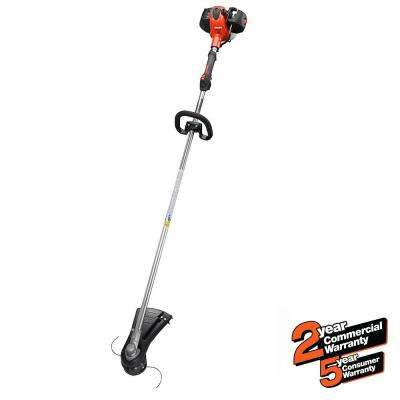 25.4cc Gas 2-Stroke Cycle Straight Shaft Trimmer