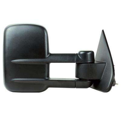 Towing Mirror for 14-17 Silverado/Sierra 1500 15-17 2500/3500 Textured Black Extendable 1st Design Folding RH