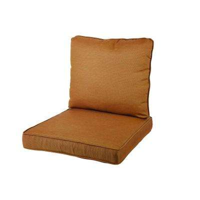 Oak Heights 27.56 x 24.41 Outdoor Lounge Chair Cushion in Standard Cashew