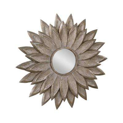 29 in. W x 29 in. H Sunflower Wall Mirror