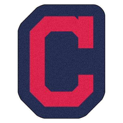 MLB - Cleveland Indians 30 in. x 39.1 in. Indoor Area Rug Mascot Mat