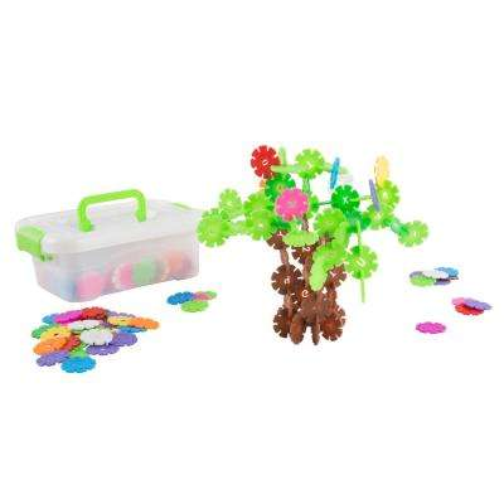 Imagination Flakes Interlocking Plastic Disc Toy