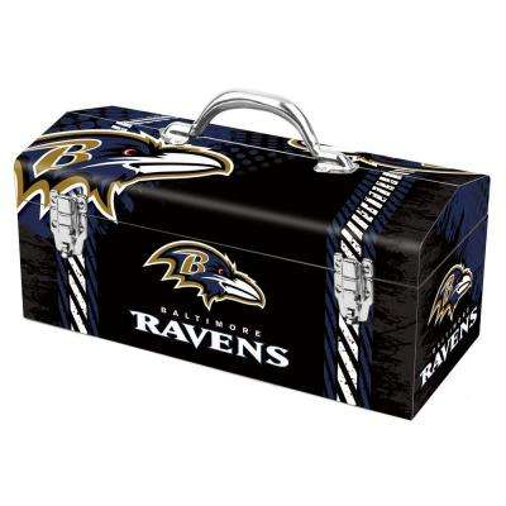 7.2 in. Baltimore Ravens NFL Tool Box