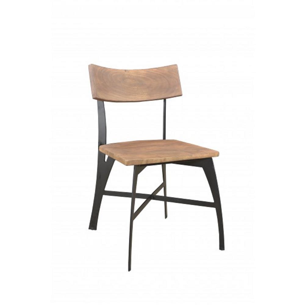 Yosemite Home Decor Solid Acacia Wood Chair