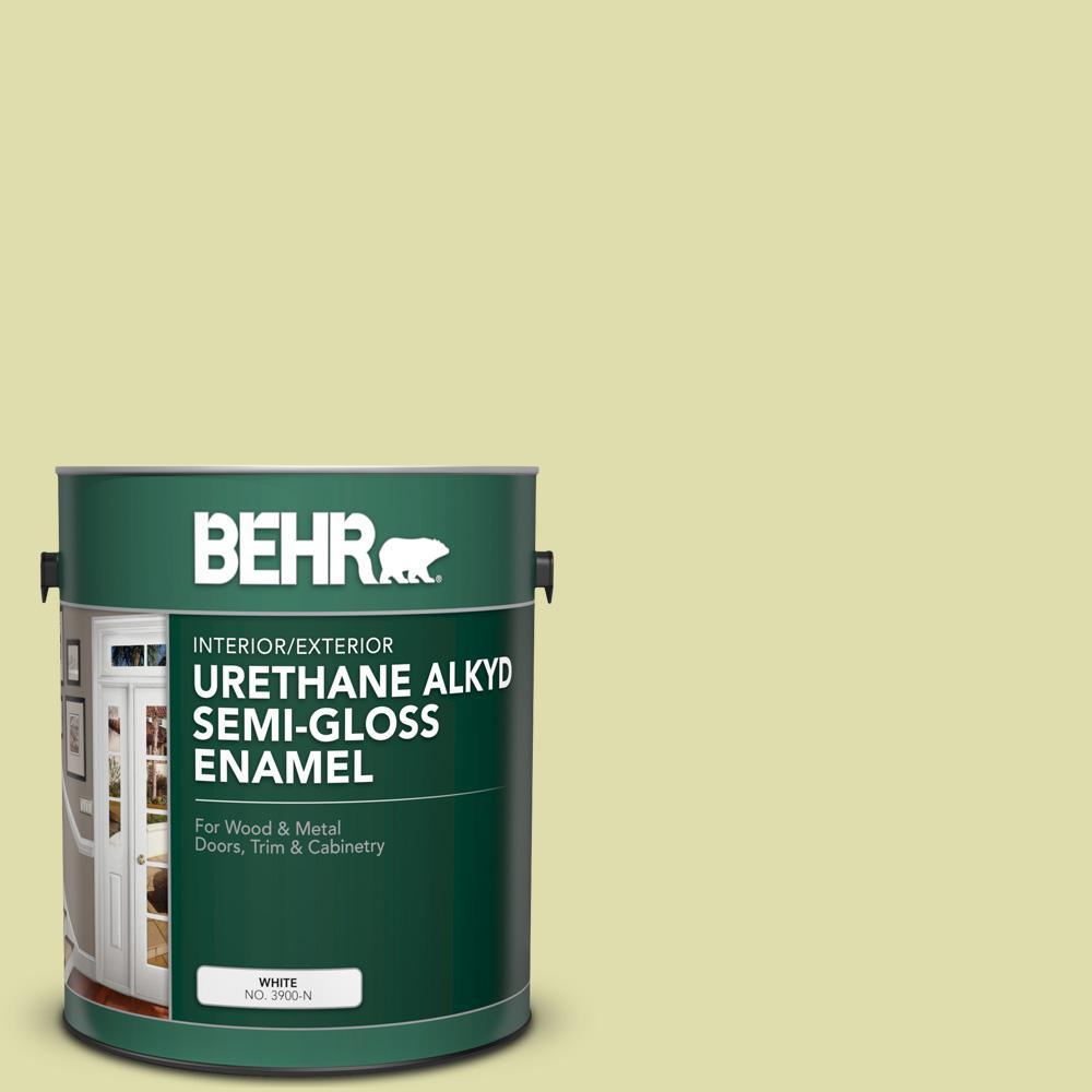 Behr 5 Gal P360 3 Tonic Urethane Alkyd Semi Gloss Enamel Interior Exterior