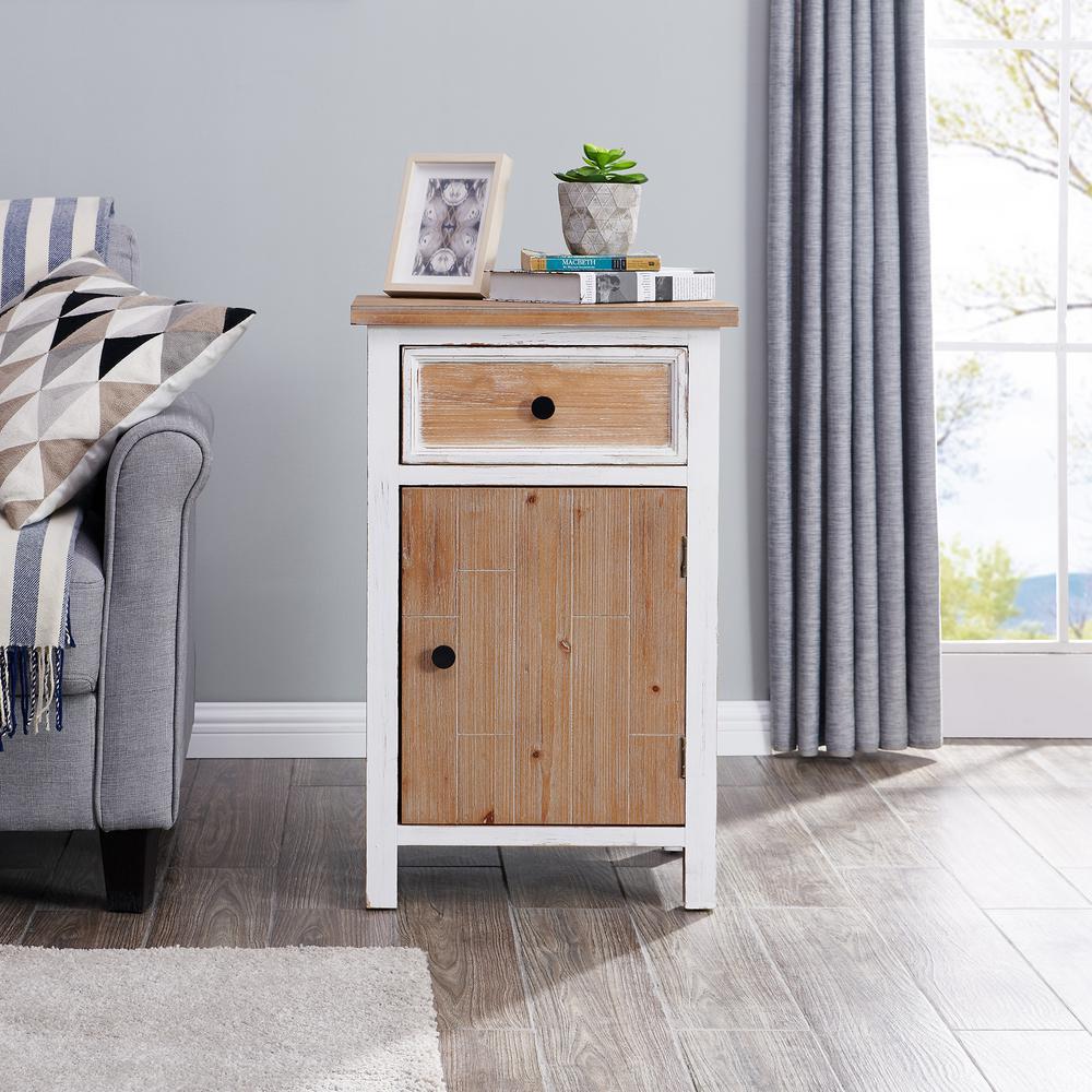 30 in. Barnside Planks Cabinet