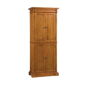 Home Styles Distressed Oak Pantry-5004-69 - The Home Depot