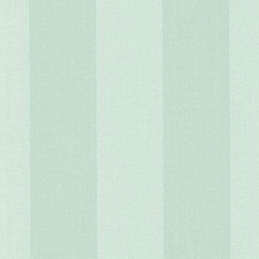 Harpswell Aqua Herringbone Awning Stripe Wallpaper Sample