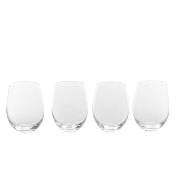 Gibson Home Imagination 18 oz. Stemless Wine Glasses (4-Pack) 985105267M