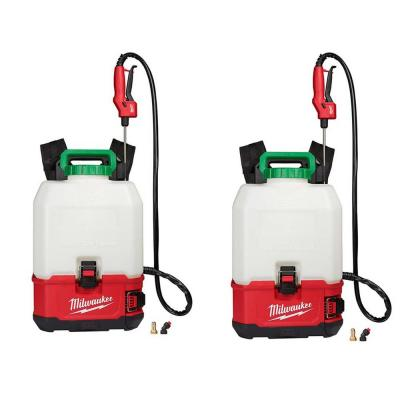 M18 18-Volt 4 Gal. Lithium-Ion Cordless Switch Tank Backpack Pesticide Sprayer Combo Kit Set (2-Tool)