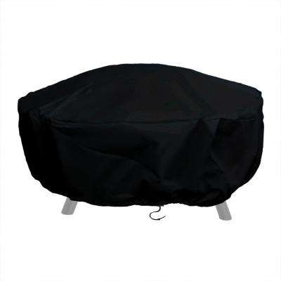 60 in. Durable Weather-Resistant Round Fire Pit Cover