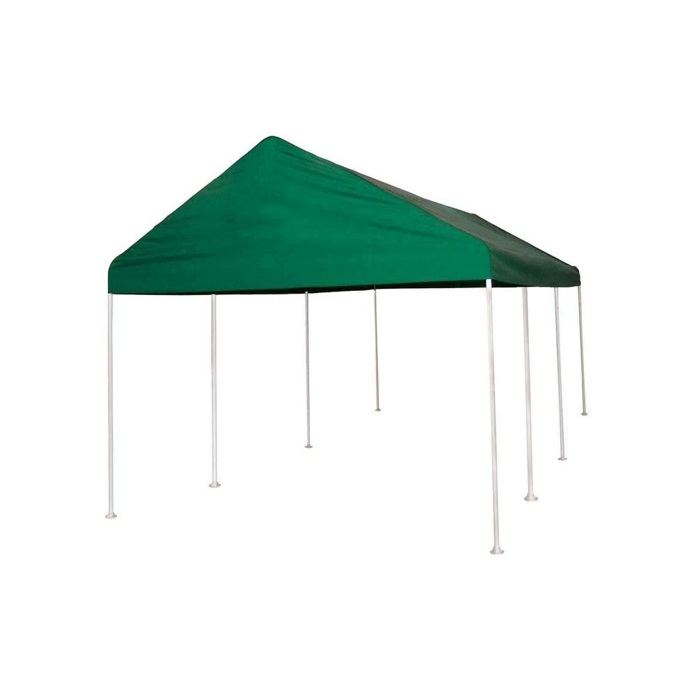 ShelterLogic Decorative Series Celebration II 10 ft. x 20 ft. Green Canopy (2 in. Frame)-DISCONTINUED