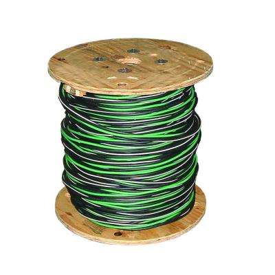 500 ft. 2-2-2-4 Black Stranded AL MHF USE-2 Cable