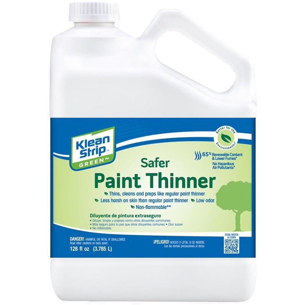 how to use paint thinner on metal