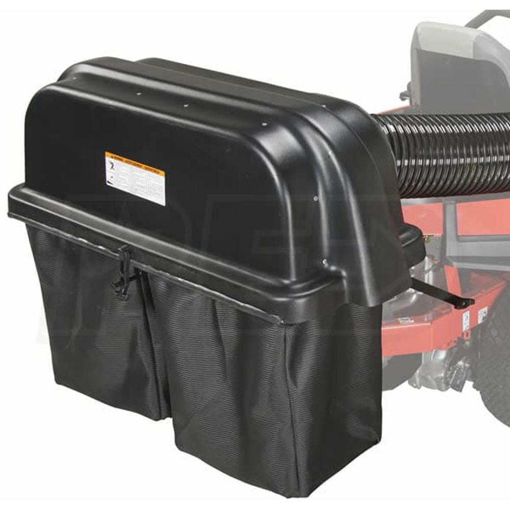 2-Bucket Cloth Bags Bagger Grass Pump Assist for IKON X and IKON XL Models