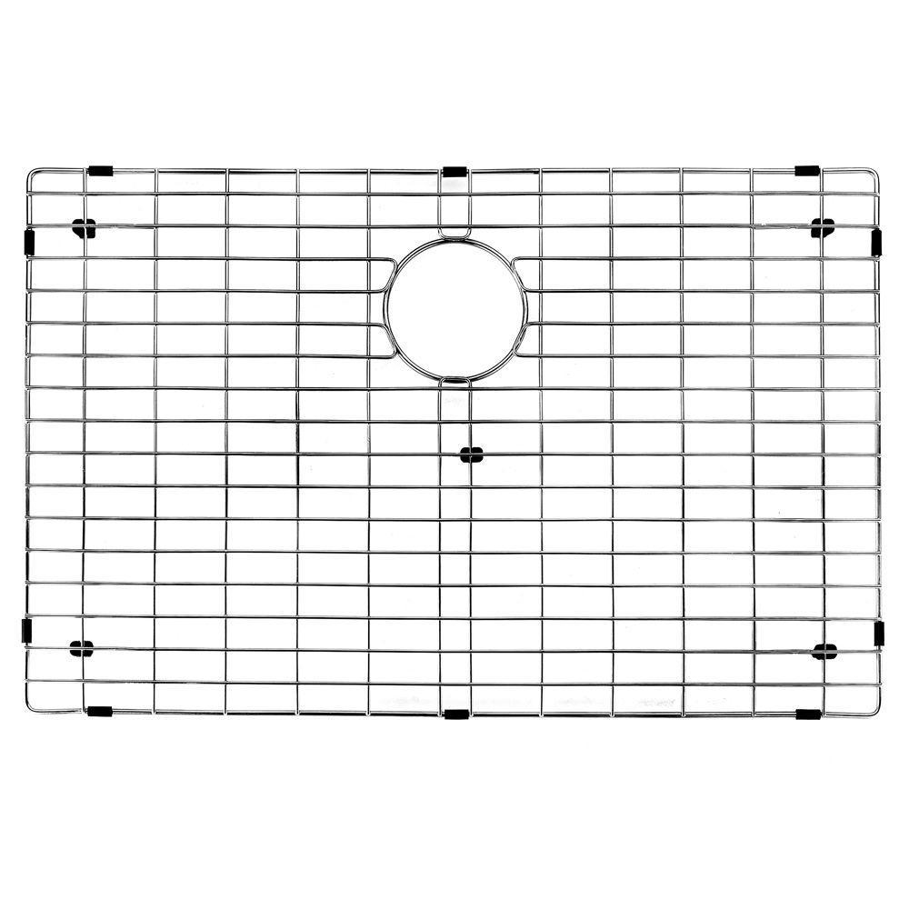27 in. x 17 in. Kitchen Sink Bottom Grid