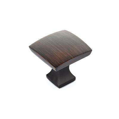 1-19/64 in. Oil-Rubbed Bronze Collection 7 Knob