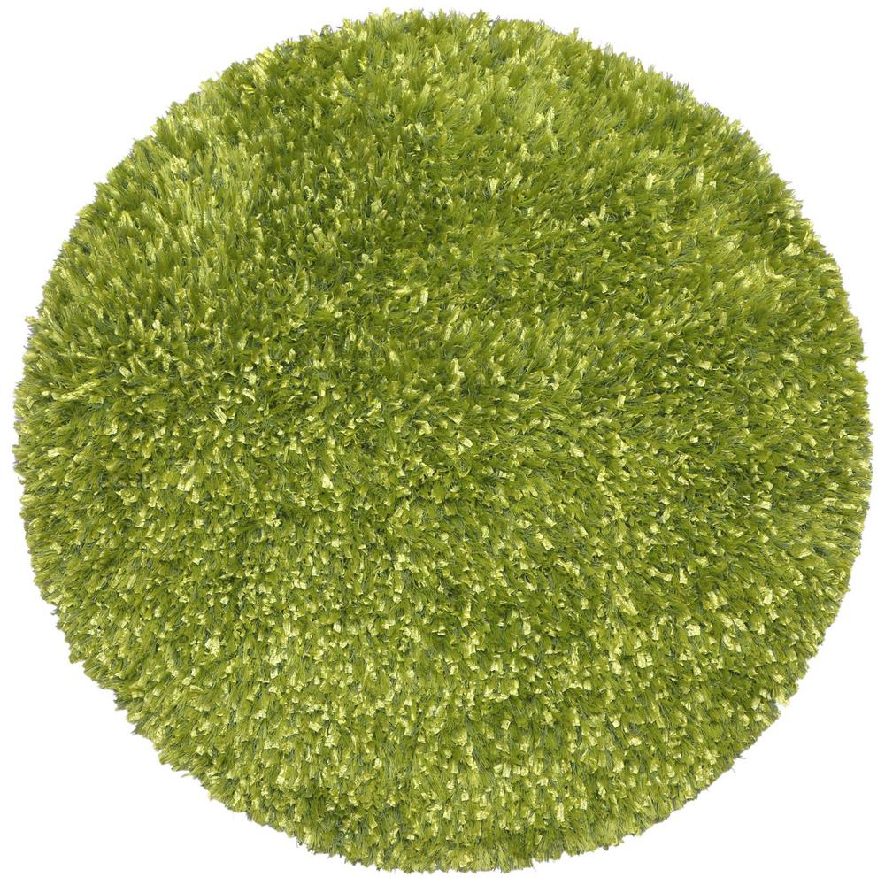 Round Green Area Rugs.Green Shag 5 Ft X 5 Ft Round Area Rug