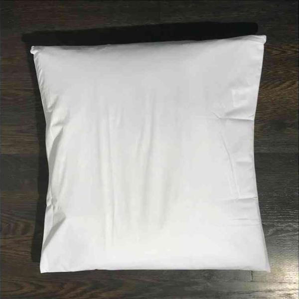 12 Standard Vinyl Zippered Pillow Cases Waterproof Bed Bug Dust Mite Protection