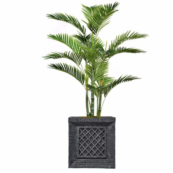 Laura Ashley 54 in. Tall Palm Tree Artificial Decorative Faux with