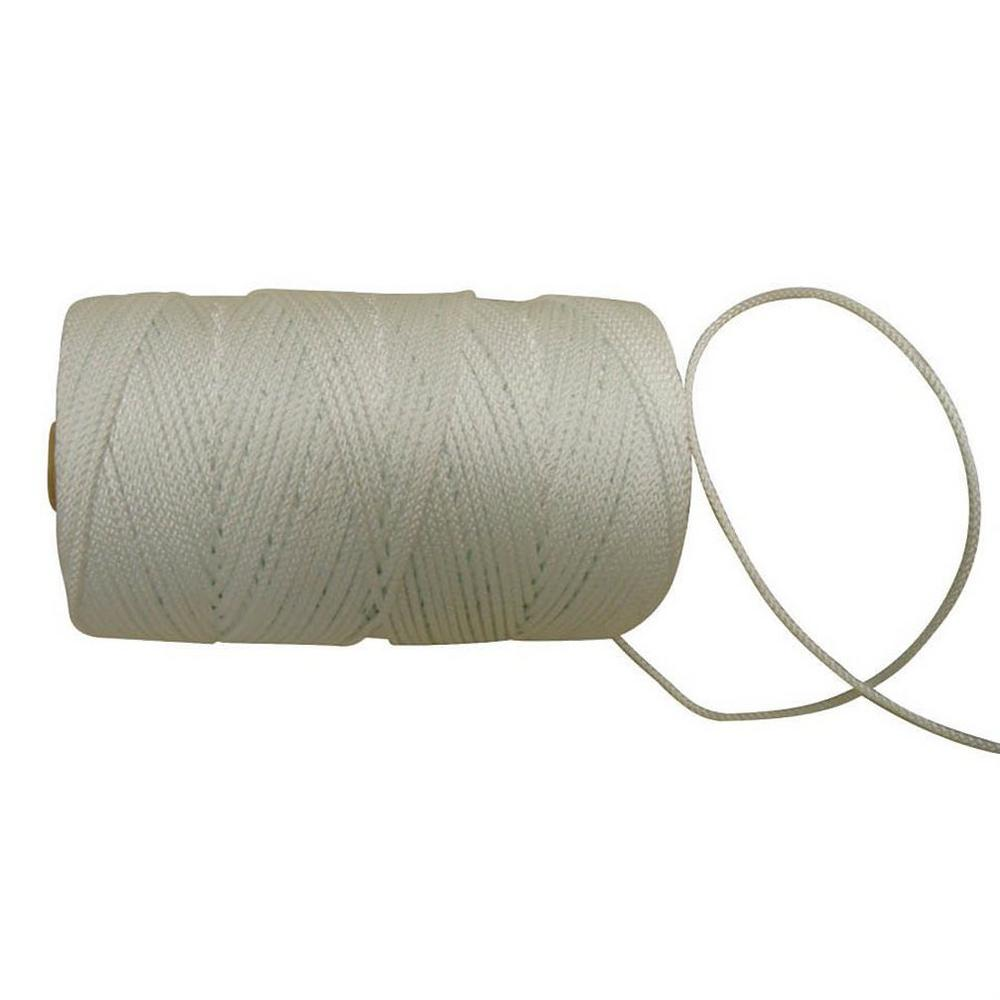 Bon Tool Braided Polyester Twine -1/8-inch X 1000 Foot With Core