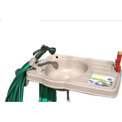 Outdoor Sink System With Large Counter Top