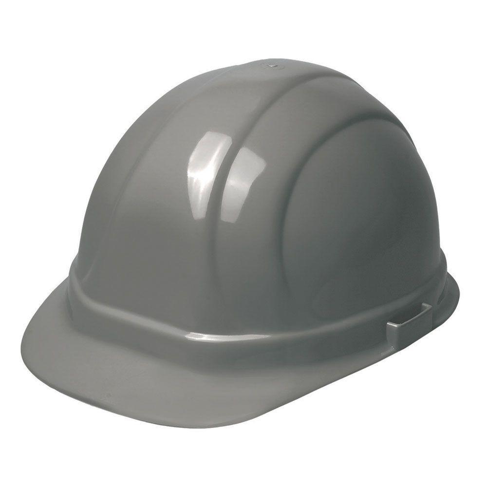 Omega II 6 Point Nylon Suspension Slide-Lock Cap Hard Hat