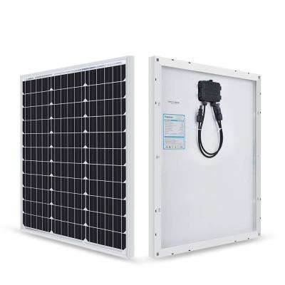 50-Watt 12-Volt Monocrystalline Solar Panel for Compact Design