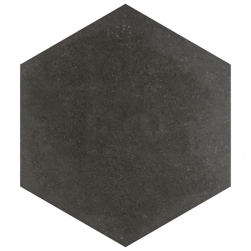 Vintage Hex Marengo 8-5/8 in. x 9-7/8 in. Porcelain Floor and Wall Tile (11.56 sq. ft. / case)