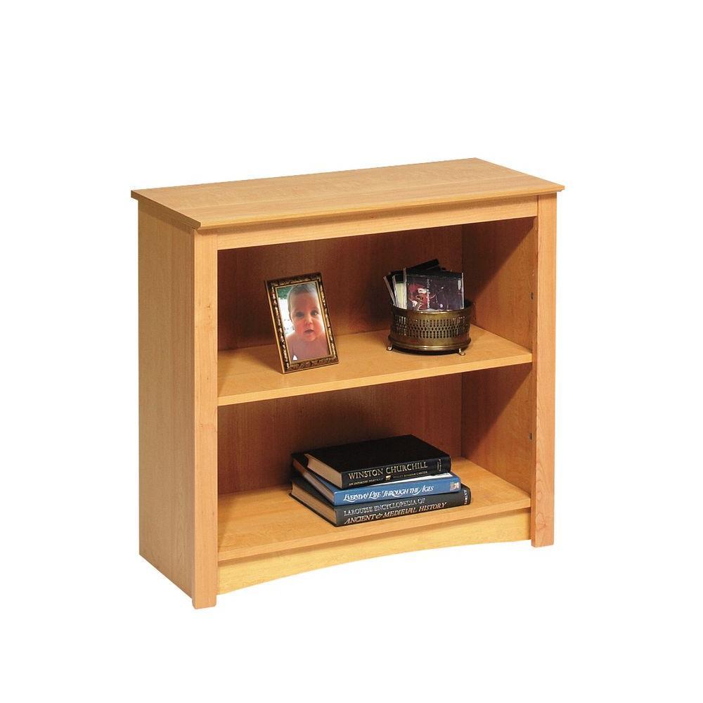 Prepac Maple Open Bookcase