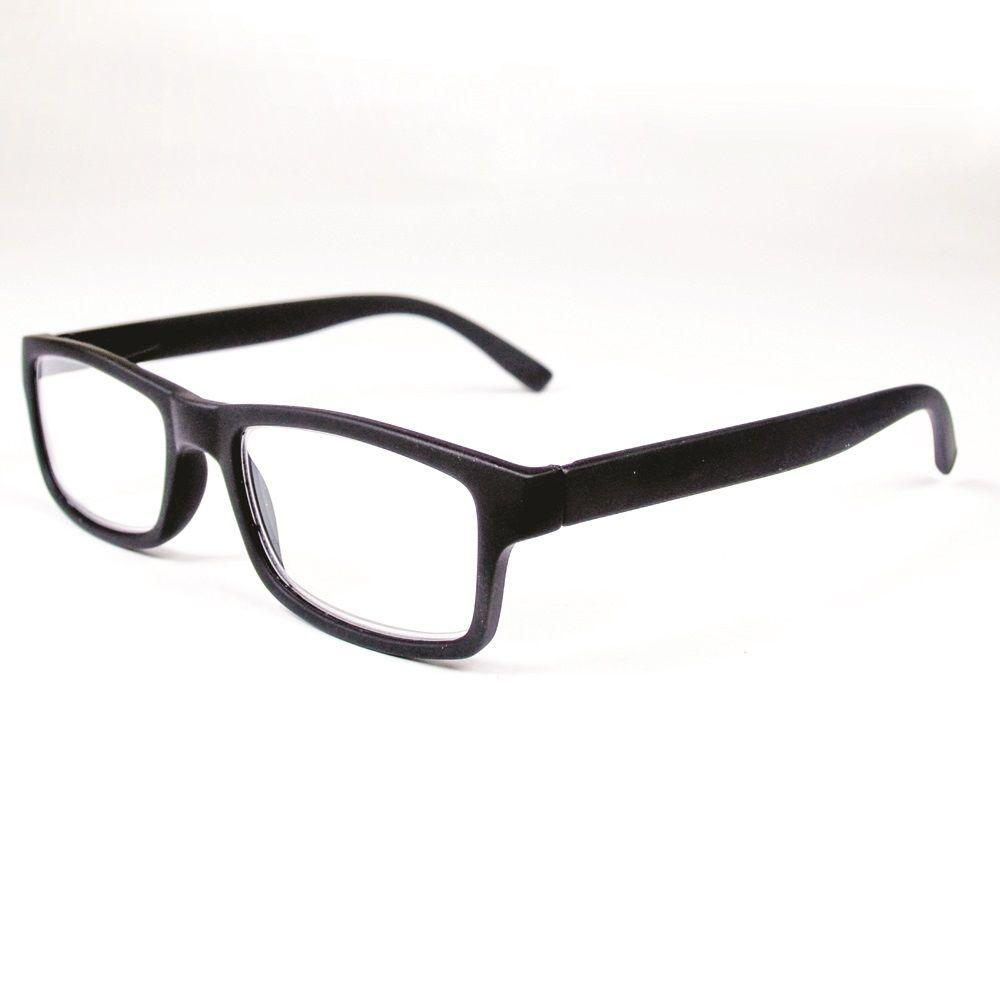 Magnifeye Reading Glasses Retro Black 1 5 Magnification 86020 14 The Home Depot