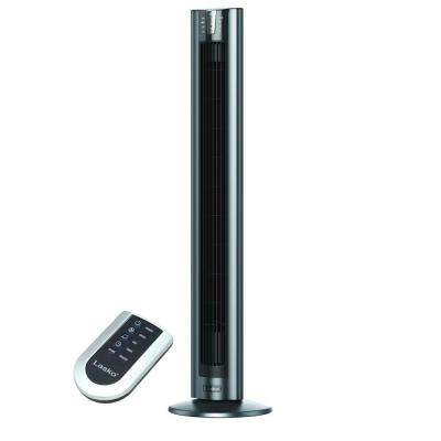 48 in. 4-Speed Oscillating Tower Fan with Remote Control