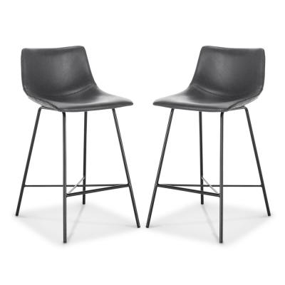 Paxton 24 Counter Stool in Grey (Set of 2)