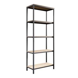 North Avenue Charter Oak 5-Shelf Bookcase