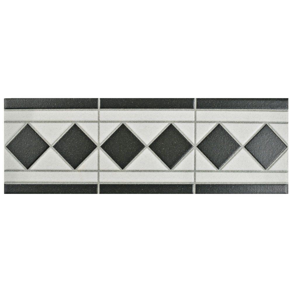 Merola Tile Vanity Blanco 4 1 In X 13 Porcelain Listello Floor And Wall Trim