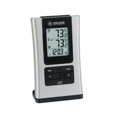 Wireless Personal Weather Station with Quartz Clock