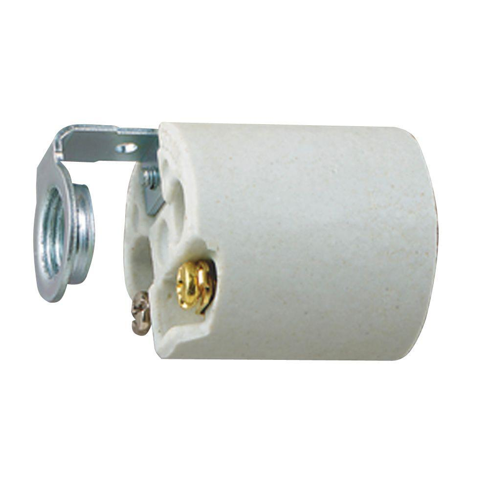 2-3/16 in. Porcelain Fixture Socket