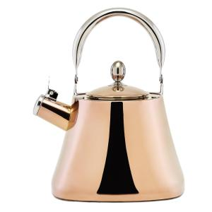 Old Dutch DuraCopper 10.57-Cup Stovetop Tea Kettle in Copper by Old Dutch