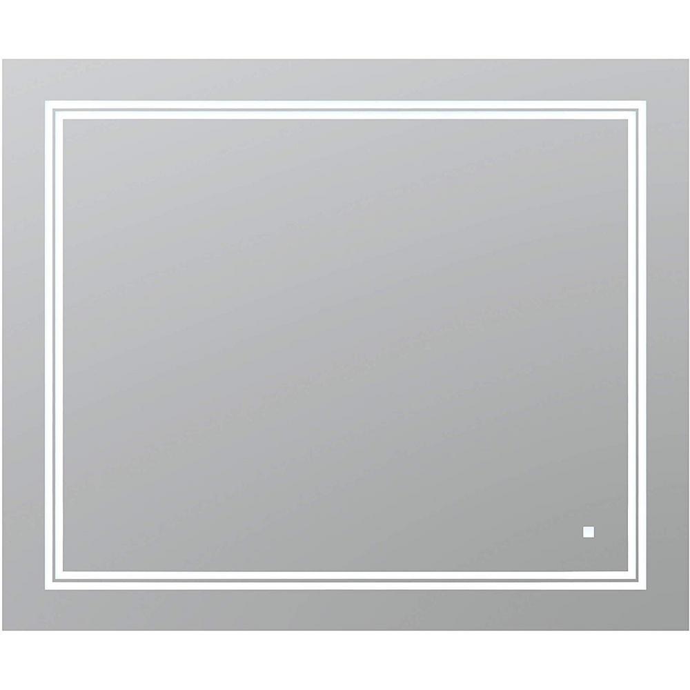 Aquadom SOHO 36 in. W x 30 in. H Frameless Bathroom Mirror ...