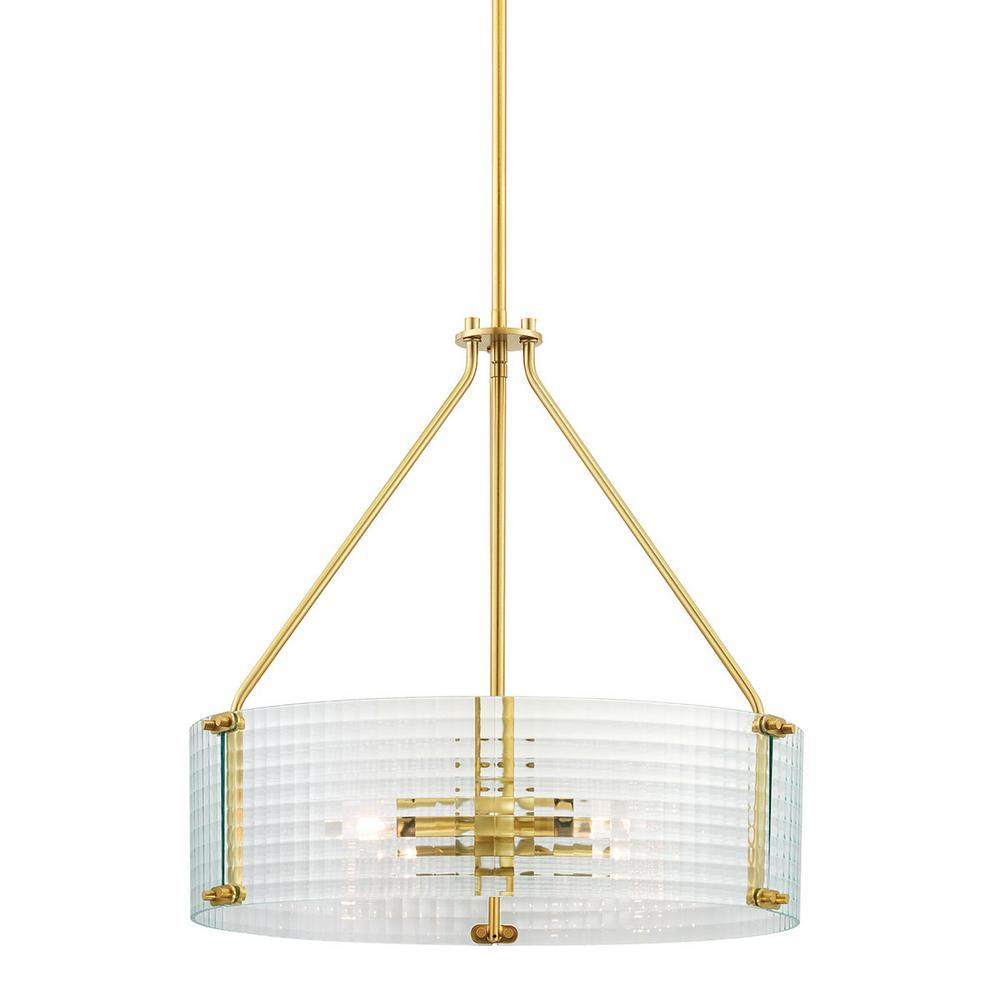 Westlyn 4-Light Brushed Brass Pendant