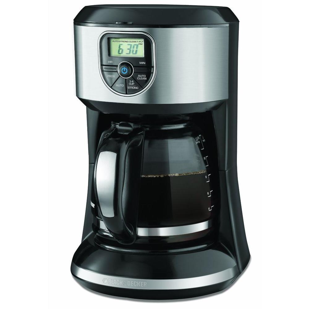 BLACK+DECKER 12-Cup Programmable Coffee Maker CM4000S
