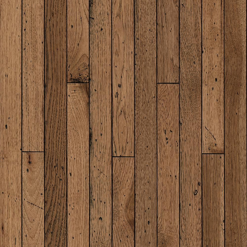 Bruce Vintage Farm Hickory Antique Timbers 3 4 In X 2 1 Wide Varying Length Solid Hardwood Flooring 20 Sq Ft Case SVF24AT