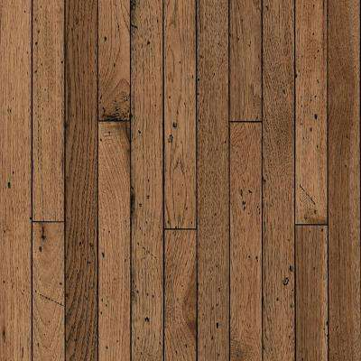 Vintage Farm Hickory Antique Timbers 3/4 in. T x 2-1/4 in. W x Varying L Solid Hardwood Flooring (20 sq. ft./case)