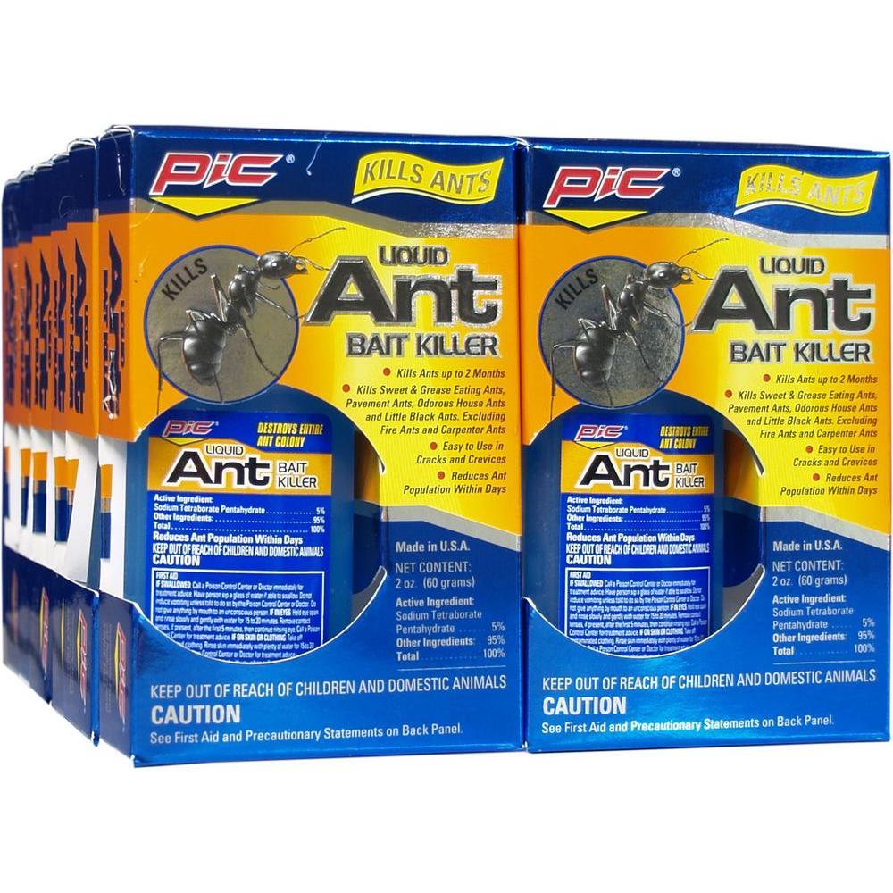 PIC Liquid Bait Ant Killer (Case of 12)