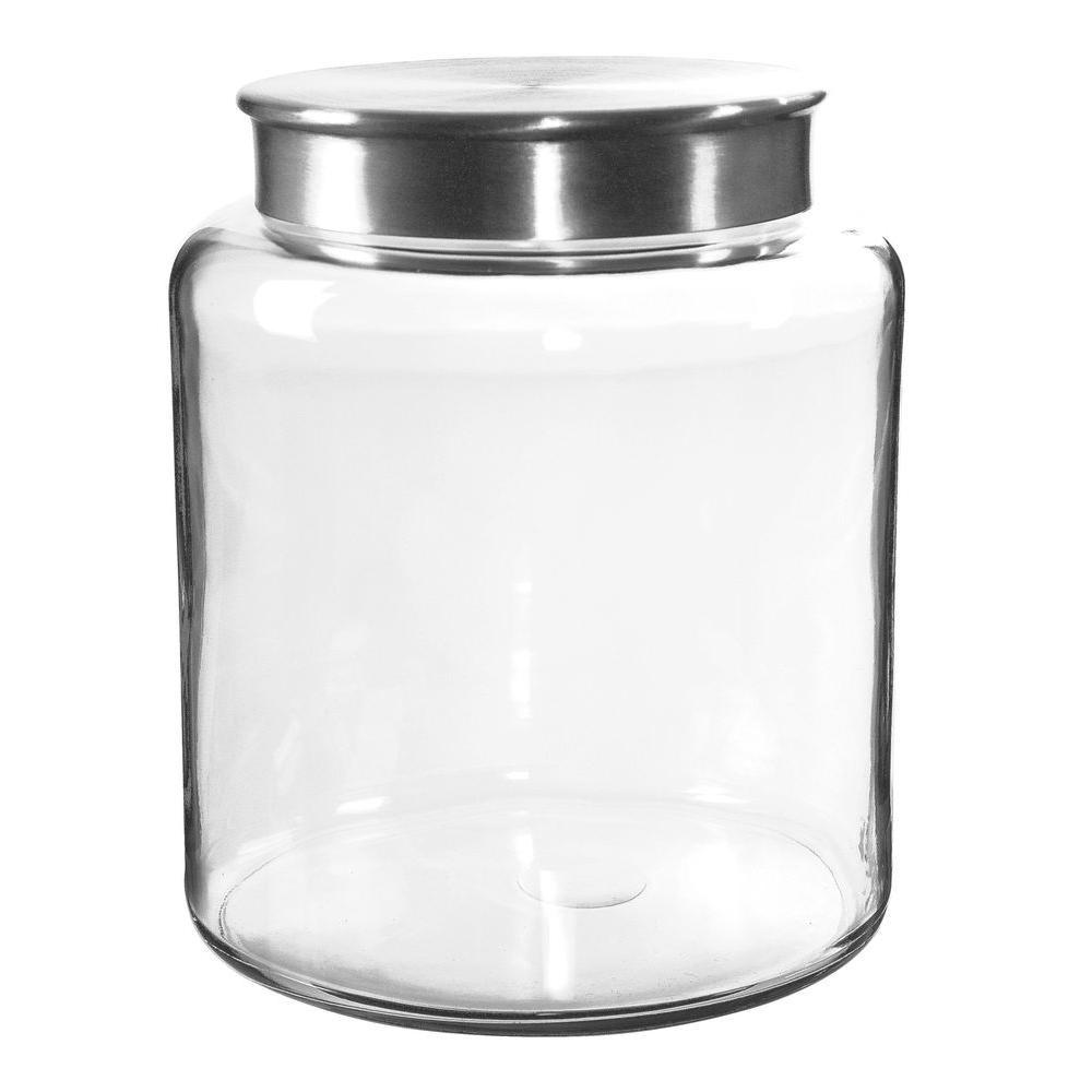 Anchor Hocking 2 gal. Modern Montana Jar Flat Lid