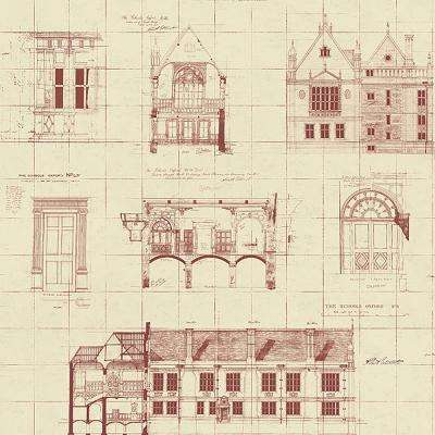 Classic non pasted pink wallpaper decor the home depot estcourt maroon blueprint wallpaper malvernweather Image collections