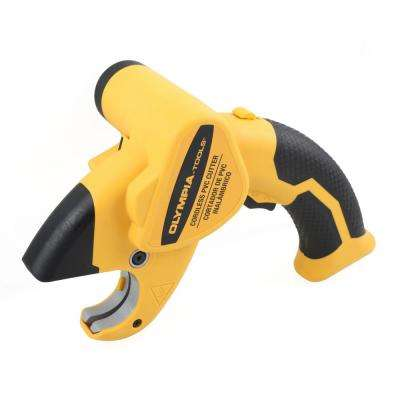 Cordless PVC Cutter, 1-5/8 in. Capacity
