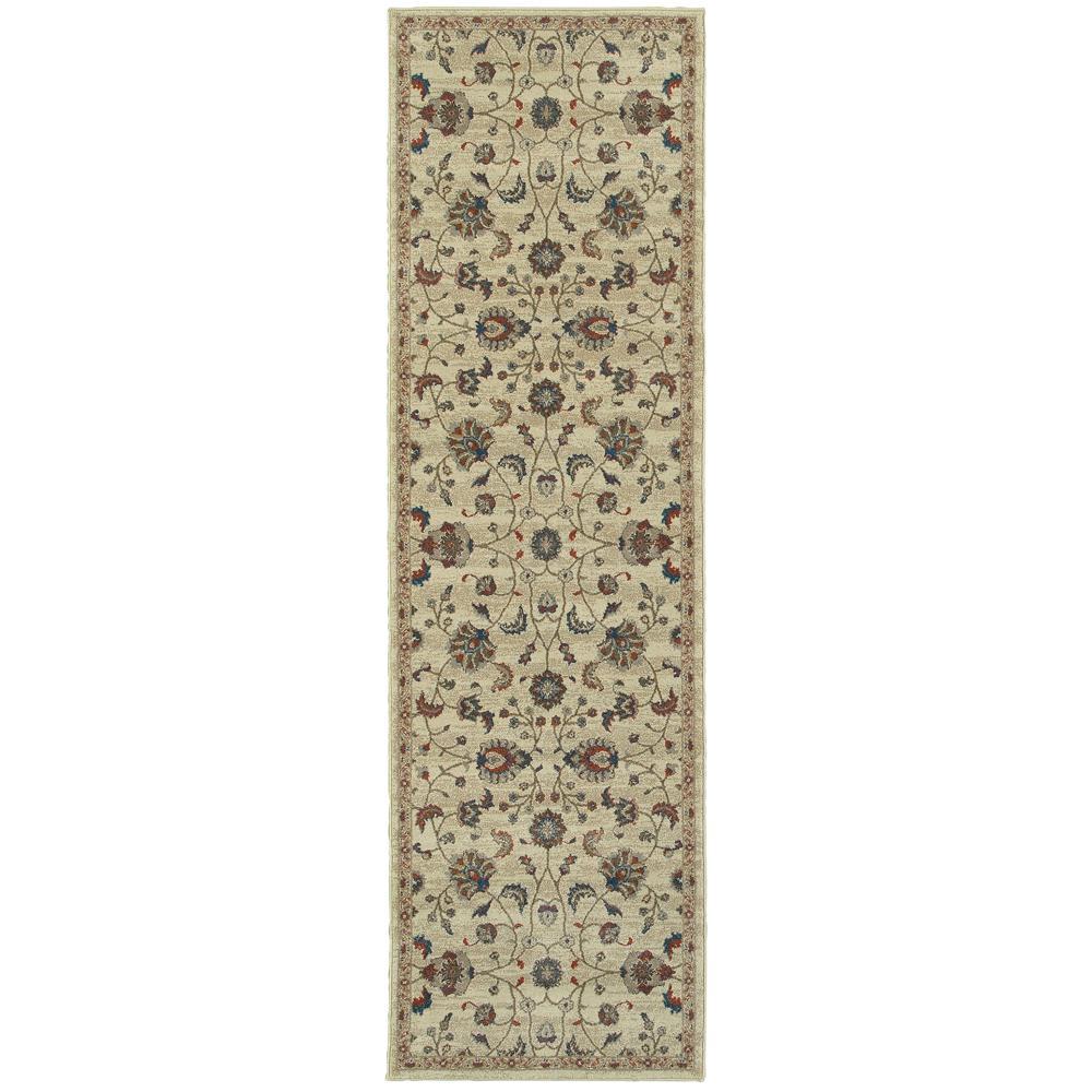 Home Decorators Collection Durham Beige 2 ft. x 8 ft. Runner Rug