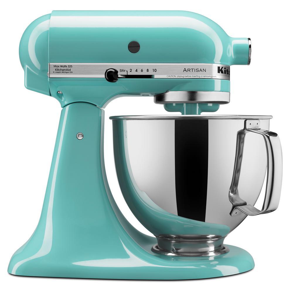 Aqua Sky Kitchenaid Professional 600 Stand Mixer 6 quart Renewed ...